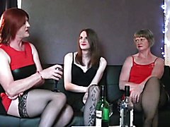 Myself, my wife and a Tgirl friend talking about our sex lives.
