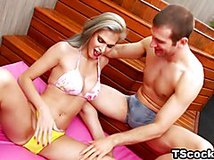 Brazilian TS wants anal sex