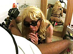 Sissy Mya Swallow suck Jack one hour since a long time
