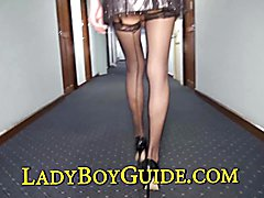 Sweety knows well the desire to have phallus inside her. Her tight elastic sphincter can rel...