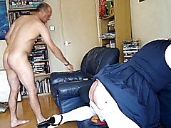 Sissy Suzy finally meets her match, and is rewarded for her slutty behavior. Her 'master' tr...