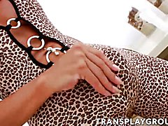 Big tits brunette Sabrina using sex toy for pleasure and to show you how is it really done.