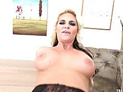 Dirty talking Phoenix Marie sucks and rides cock POV