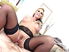 Dirty talking Phoenix Marie sucks and rides cock POV