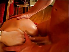 blonde gets her ass fucked
