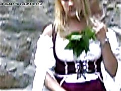 An older video of myself playing with nettles and enjoy the sweet pain! *Kisses, Kitty :)