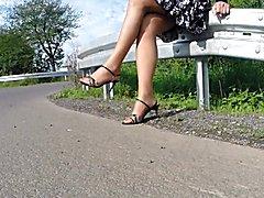 Feet and Legs on Tour Vlll