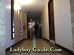 Double super sexy ladyboys, ready to fuck, either one better than the other. Thick and Sie, ...