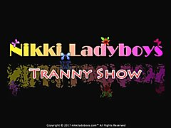 Nikki Ladyboys Party in Los Angeles California with other T-girls and Japanese superstar New...