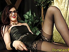 Spex transgender dom doggystyles straight guy before cocksucking