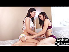Korra Del Rio and Melanie Brooks are two luscious transsexuals who need no presentation! The...