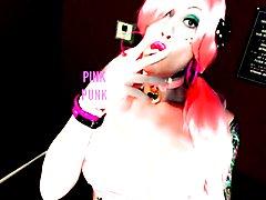 just being a proud pink bimbo punk