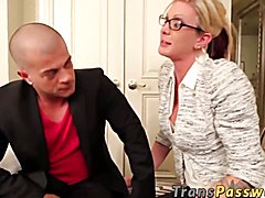 Excellent TRANNY hooker fucks with client for cash. They both enjoyed that in more ways than...