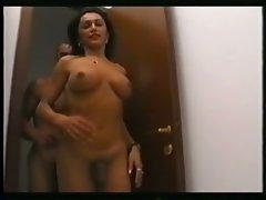 Perky tits shemale cocksucker