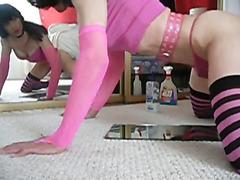 pre-cum in Pink