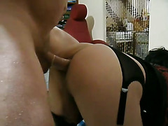 Sissy Emma recently visited and sucked j's cock and got fucked liked teh whore she is. No cu...