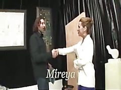 massive dick shemale Mireja dominates the guy...enjoy