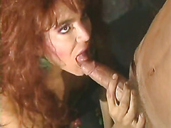 Very hot scene with 90s CD star Karen Dior.