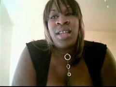 Ebony BBW with big dick