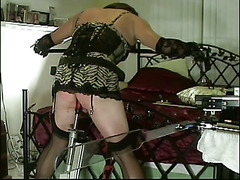Christi left to the whims of a dom's sadistic plan to dish out punishment while running erra...