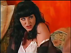 Great piece of vintage tranny porn; a brunette Olivia Love! Sorry for the weird camera lens ...