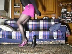 New purple sexy heels