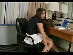 Ashley George Masturbating To Cumshot 2 By twistedworlds